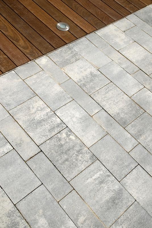 Combinación de losas. Mosaico. Multiformato - Quadro