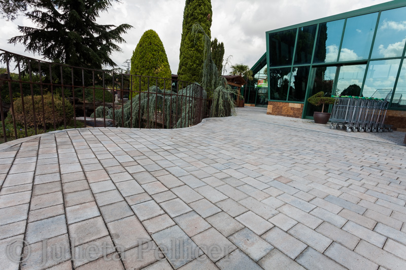 Modern Paving Stones Raw - Quadro