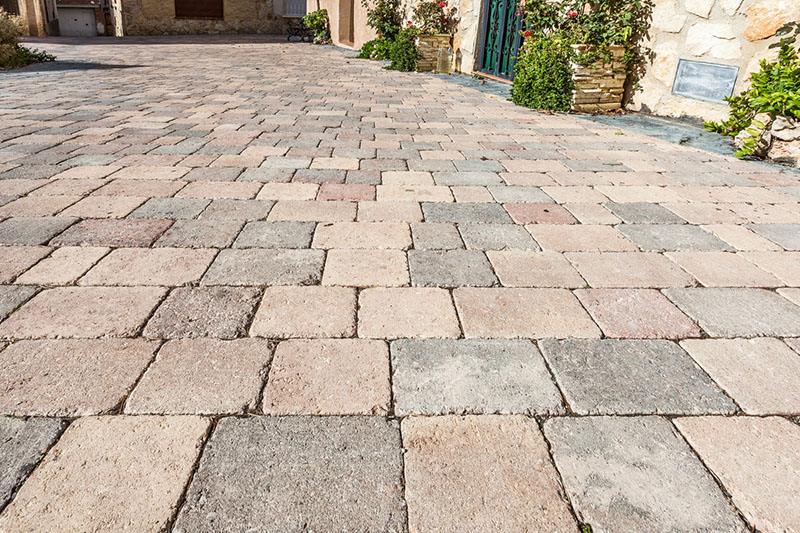Garden paving, Weekend - Quadro