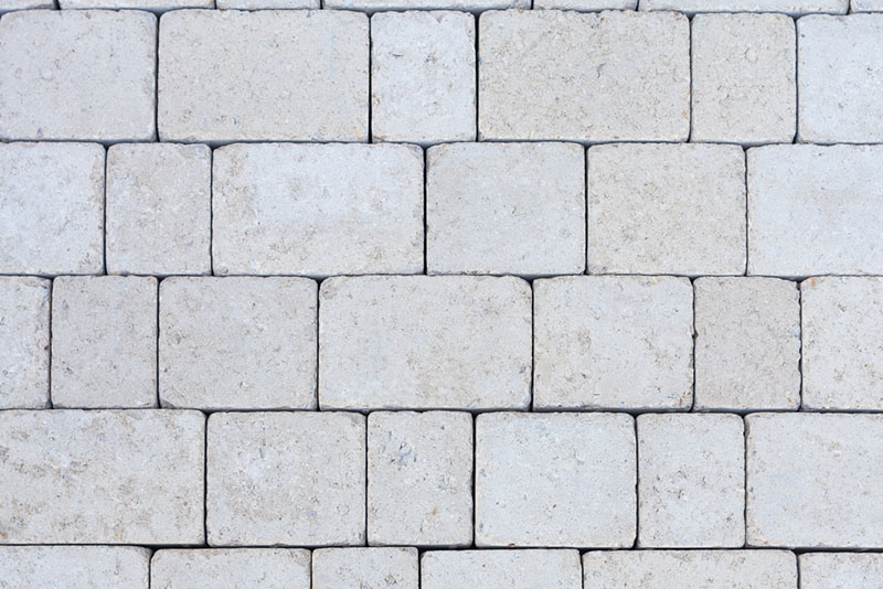 White dolomite - paving color chart