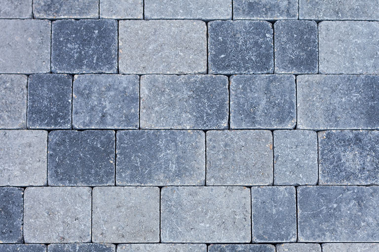 Glaciar grey - paving color chart