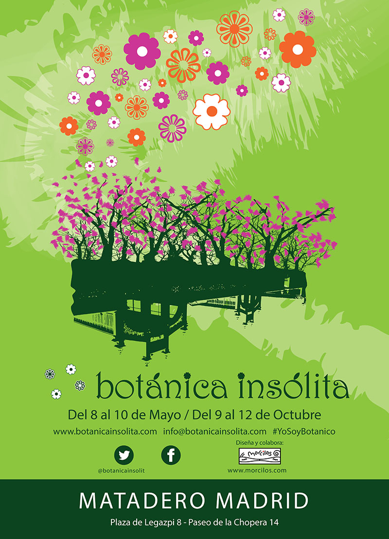 Cartel Feria Botánica Insólita