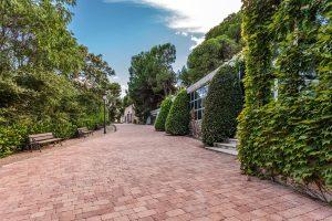 Remodelación de espacios exteriores: Palacio de Negralejo