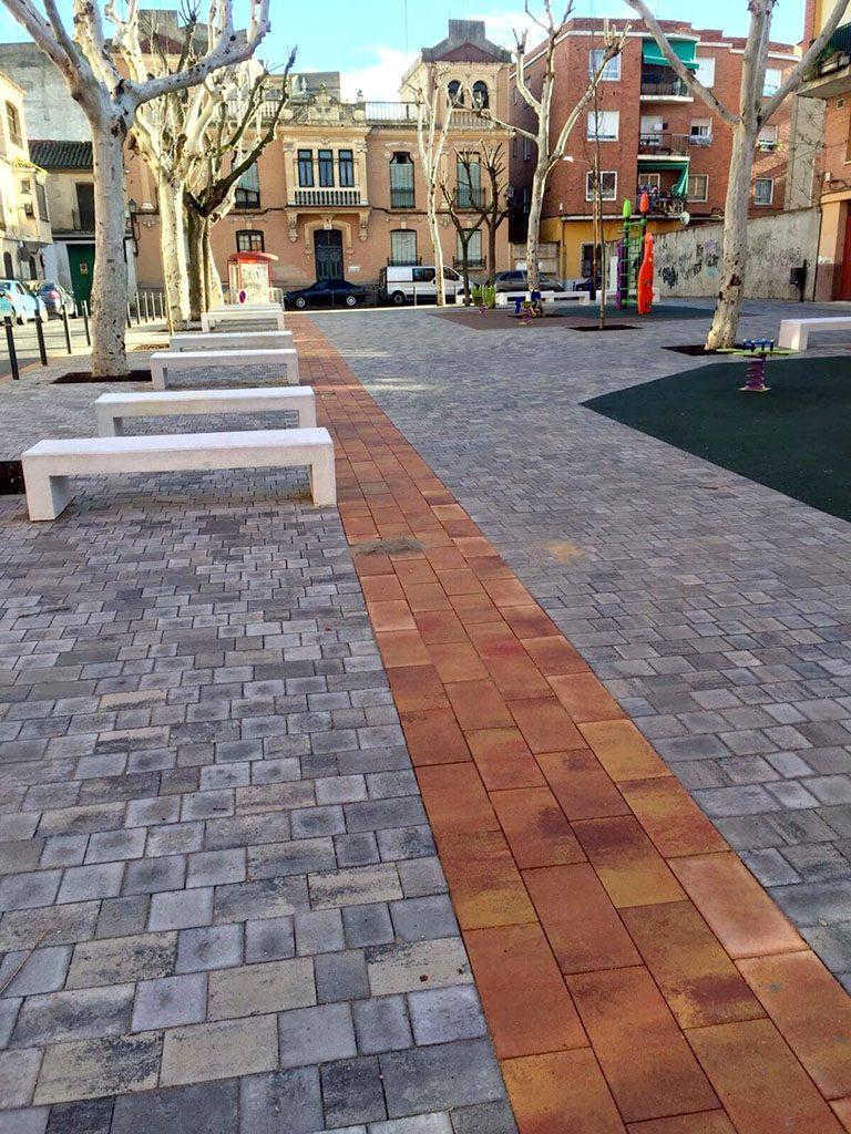 Remodelación de la Plaza de Aravaca en Talavera de la Reina